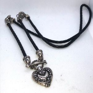Brighton Vintage Heart And Arrow Toggle Lariat